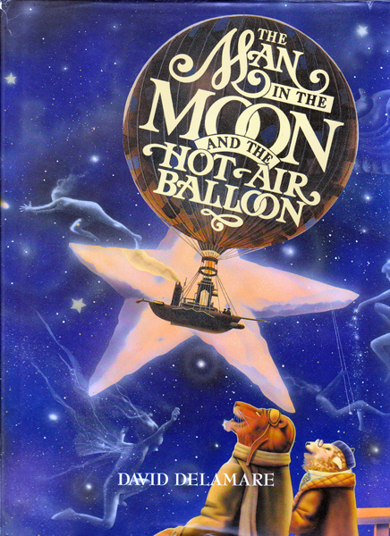 The Man in the Moon and the Hot Air Balloon, Delmare, David